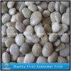 Polished естественный белый камень камушка для украшения сада