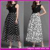 2015 New Designer Elegant Silk Ladies Stitching Evening Dress (D00265)
