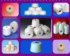 Polyester 100% gesponnenes Garn DTY FDY POY