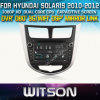 Witson Car DVD para Hyundai Solaris Car DVD GPS 1080P DSP Capactive Screen WiFi 3G Front DVR Camera