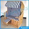 Sedia verde del rattan della mobilia del giardino del prodotto