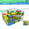 Terrain de jeu trampoline intérieur avec équipement à glissière à vendre (M11-C0015)