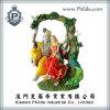 注文のヒンズー教の神の彫像の装飾、ヒンズー教の神の樹脂の置物