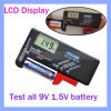 Affichage LCD DT168d 1,5V Testeur de batterie 9 V mètre