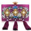 2017 sacs à main de luxe de bourse de Rhinestone de dames de sacs d'embrayage de soirée d'arrivée neuve des fournisseurs Leb932 de la Chine