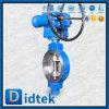 Double vanne papillon excentrique de haute performance d'acier inoxydable de Didtek
