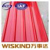 Impermeabilización de cubiertas de chapa de acero galvanizado corrugado