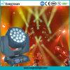 Indicatore luminoso capo mobile della grande dell'ape degli occhi 19X15W dello zoom lavata del fascio