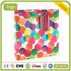 Bolsas de papel revestidas del regalo del arte de la manera del círculo coloreado