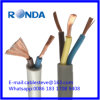 Sqmm elétrico flexível do cabo de fio 2X1.5 de H05VV