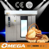 CE Approved Backing Oven Market europeo Rotating Rack Oven (fornitore CE&ISO9001)