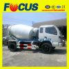 4X2 de Vrachtwagen van de Concrete Mixer van Foton Rhd 3m3