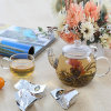 Glass Tea Pot, Blooming Tea Pot