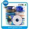 Fábrica de venda de impressão de logotipo grátis em branco DVD +/- R
