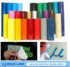 Etiqueta engomada adhesiva del PVC del color del deletreado