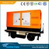 Conjunto de generador diesel portable móvil 180kVA del acoplado del precio de fuente de la fábrica