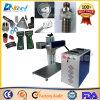 Marcador de 20W Mini CNC láser de fibra para la industria de hardware