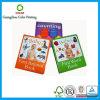 Libro de aprendizaje inglés de la tarjeta de la impresión de la fábrica de China para los cabritos