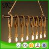 Hot Sale Antique Hemp Rope Pendant Lamp