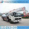 Crescimento da seção fabricante usado móvel do guindaste do caminhão de um Samll de 12 toneladas