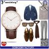 Yxl-002 Promoción nuevo diseño de Reloj de dama Dw de cuarzo de acero de cuero estilo Mens Watch para las mujeres Logotipo personalizado reloj casual
