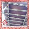 Encofrado de acero reutilizable y ajustable de la losa del vector