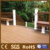 Decking modelo del jardín de los diseños populares WPC para el suelo exterior