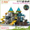 Equipamento ao ar livre da aventura do campo de jogos da aptidão dos miúdos