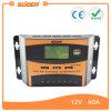 Contrôleur de charge du système d'alimentation du panneau solaire Suoer Contrôleur solaire 12V 24V 40A (ST-C1240)