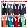 La cravatta della festa nuziale tessuta jacquard del legame di seta degli uomini ha impostato (B8051)