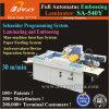 2 en 1 de Automática Industrial rodillo caliente película 540mm3 de papel A4 y Laminadora Embosser