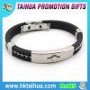 Vente en gros promotionnelle de bracelet de bracelet de silicone
