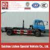 아프리카 Arm Roll Garbage Collection Refuse Collector Truck에 Dongfeng Hook Arm Garbage Truck 190HP 4*2 Export