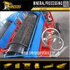 Mínima Mini Trommel Mobile Lavadora de Arena Pequeña Lavadora de Oro