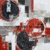 De Abstracte die Olieverfschilderijen van uitstekende kwaliteit op Canvas door Hand worden gemaakt