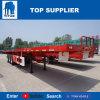 Het Voertuig van de titaan - 3 Semi Aanhangwagens van de Vrachtwagen van de As Flatbed voor Verkoop