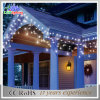 Luz atrativa do sincelo do diodo emissor de luz do motivo do Natal da decoração do feriado