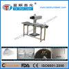 La venta caliente 10W 30W 60W / 100W CO2 Máquina de marcado láser con Flying tabla