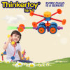 Toy educativo em helicóptero para motores finos