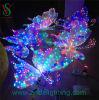 Luz fiesta de la boda decoración de vacaciones de la mariposa 3D LED del adorno