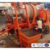 Equipo de procesamiento por lotes por lotes de la mini planta móvil del asfalto para la maquinaria de la construcción de carreteras