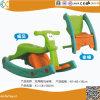 Kind-Plastikschwingpferd kann Stuhl auch sein