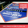 precio de fábrica a todo color impreso en vinilo de PVC de doble cara firmar Banner
