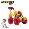Alzamiento educativo de los vehículos de la ingeniería de la serie del coche del juguete de los bloques de la tierra de Thinkertoy (C6403)