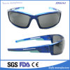 O desenhador de moda da promoção ostenta óculos de sol plásticos da injeção