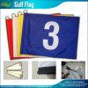 Drapeau en plastique de golf de tube de qualité