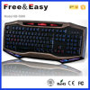 Cool diseño de la forma OEM LED Gaming Keyboard