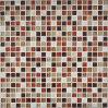 Glas-Mosaik der Mischungs-2017 und der Abgleichung