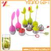 100% Grau Alimentício Infuser chá de Silicone personalizados/Bag para frasco de chá