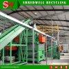 Pleine ligne de réutilisation de la Turquie déchiquetant les déchets solides comme le rebut/pneu de rebut